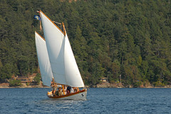 Full sail (Cameron Eckert) Tags: sail sailing ketch woodenboat boat sea ocean pacific northwest adventure expedition lapstrake savetheplanet marine maritime