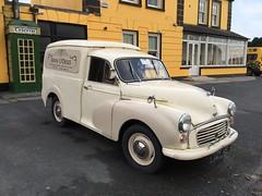 Vintage Morris Minor Delivery Van - Fanny O'Dea's Lounge Bar / Pub - Lissycasey, County Clare, Ireland. (firehouse.ie) Tags: bar fannyodeas odeas fanny pub ireland countyclare clare lissycasey oldtimer vehicle car vintage van minor morris