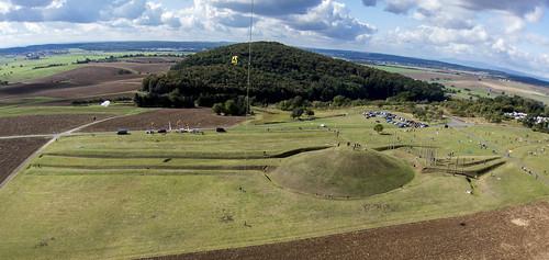 "KAP Shot of ""The World of the Celts at the Glauberg (Keltenwelt am Glauberg)"" Looking W"
