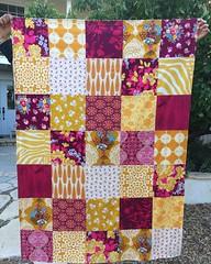 ASU colors (sewfunbymonique) Tags: arizonastate burgundy yellow annamariahorner amybutler wallflower lotus jenniferpaganelli zebra woodgrain custom