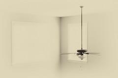 Ceiling Fan (Maggggie) Tags: 365 fan windows ceiling nik silverefex soft house