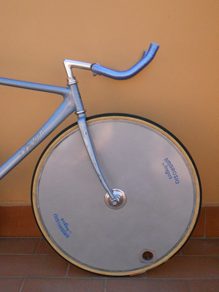 Ambrosio by Logos 650c front road disc wheel SOLD