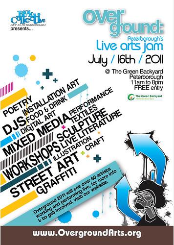 Overground Live Arts Jam 2011