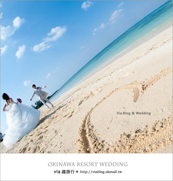 【沖繩旅遊】浪漫至極!Via的沖繩婚紗拍攝體驗全記錄!23
