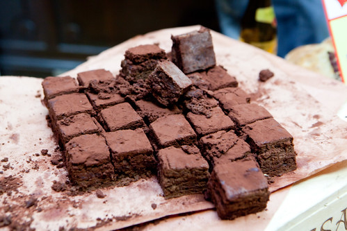 Scratchbread's Chocolate Buttercream Brownie (VIP Hour)