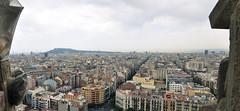 (fidgetingfollicle) Tags: barcelona city panorama beauty la spain panoramic famlia gaudi sagrada woah pana