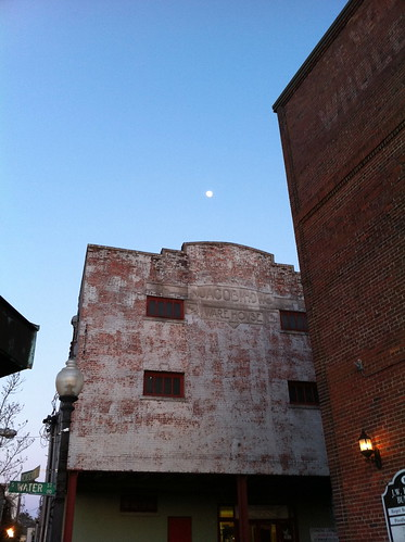 Wilmington Walk - Moon over Water Street
