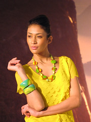 Photoshow 2011 modella brasiliana (Ondablv) Tags: portrait people ita