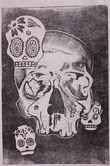 muertos 2010 (CelHuevosrevueltos) Tags: mexico diademuertos calavera tradicion grabado craneo