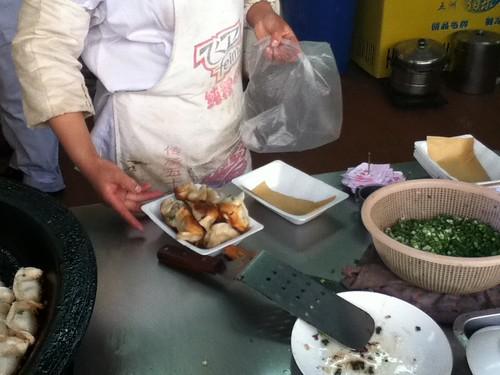 2011-04-04 - Putuo - Dumplings - 06 - Bagging