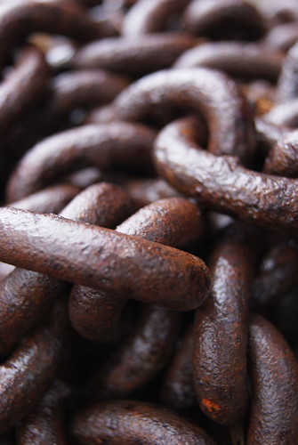Chain close-up