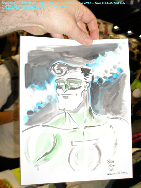 wondercon 2011 comission - Green Lantern