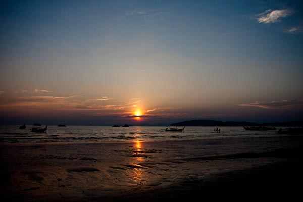 Sun Set at Ao Nang