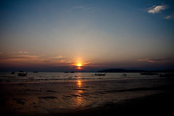 Sun Set at Ao Nang