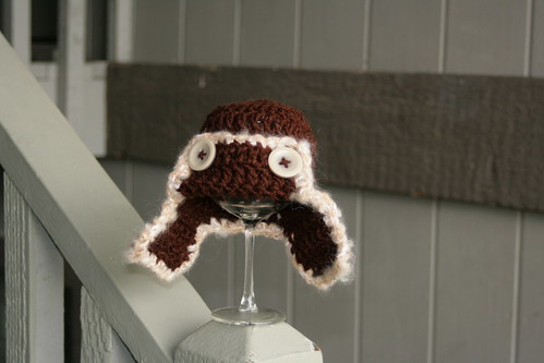 Newborn Aviator Hat by Ladybugs & Bullfrogs
