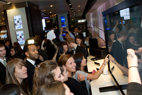 Solve for Tomorrow Award Ceremony at the Samsung Experience with John Legend