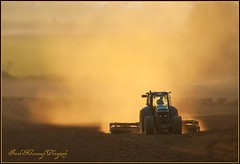 Preparing The Land (Frank Kavanagh Photography) Tags: kilkenny ireland sunset sun tractor colour nature landscape spring dusk farm seasonal eire hills fields backlit lightning emeraldisle plough irlanda farmmachinery irishphotographers kilkennyphotographers kilkennyphotographicsociety mygearandme frankkavanagh frankkavanaghphotography
