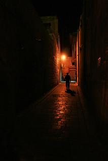 Aleppo in night