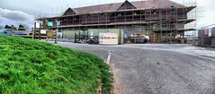 Photo of Panorama, Hotel construction, Sketchley lane, Burbage