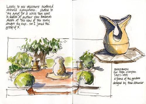 110409 Sketchabout 5_04 Herb Garden