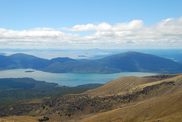 Tongariro Crossing - the back side