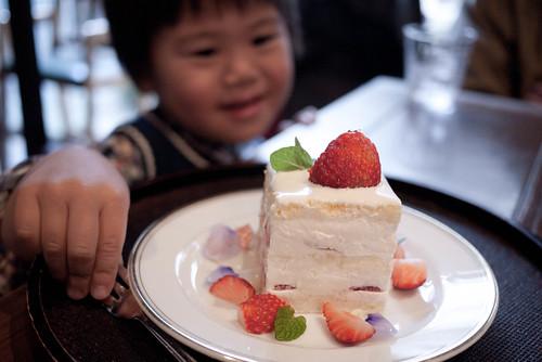 おいしそうなケーキ