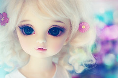 flowers (Cyristine) Tags: flowers light cute girl japan ball asian spring doll adorable kawaii dreamy bjd volks lorina jointed yosd mingyi