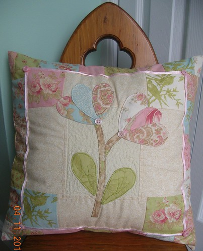 pillow using Aviary by 3 Sisters
