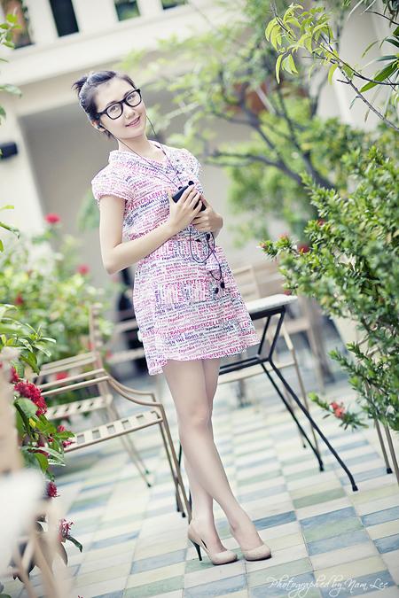 chup hinh chan dung ngoai canh - model Nha Khanh