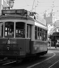 Castelo tram, Lisboa (Majorshots) Tags: trolley lisboa lisbon tram castelo streetcar trams tramway tranvia elevadores