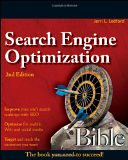 SEO: Search Engine Optimization Bible - by Jerri L. Ledford