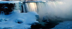 Horseshoe Falls, Niagara Falls, Ontario, Canada. (Flash Parker) Tags: winter panorama snow ontario canada ice water niagarafalls frozen panoramic falls 16x9 niagara2x