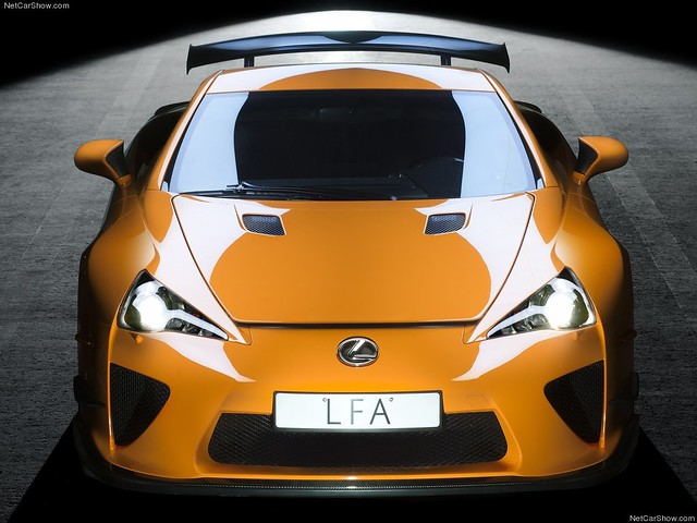 Lexus LFA Nurburgring Package 2012