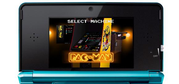 PAC-MAN & Galaga Dimensions (3DS) - PAC-MAN classic