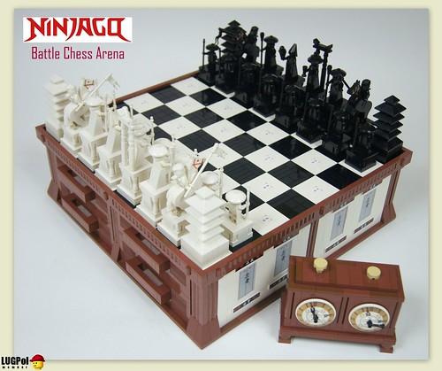 Custom minifig Ninja Chess 1