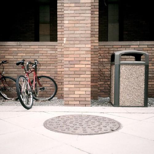 Brick, Bike, Bin