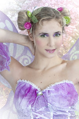 Printemps (Sbastien_C.) Tags: photoshop femme fantasy beaut heroic saisons modle