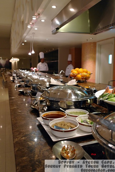 Buffet at Atrium, Sunway Pyramid Tower Hotel-39