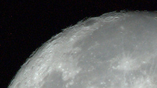 Moon, close-up
