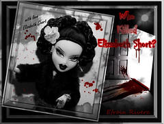 """The Black Dahlia"" (UNSOLVED MURDER MYSTERIES)..A REVOLUTIONARY THEME...deadline is may 7th.. (FASHION ICONZ-&-The1&OnlyPrinceEfrainLoves2shine#1) Tags: doll mga moxie bratz bntm mntm"