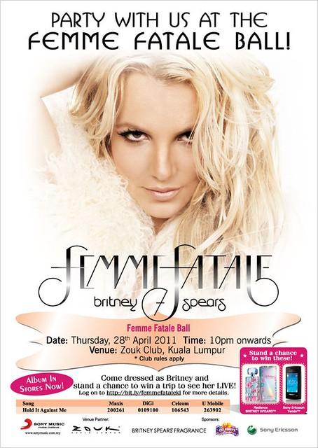 Femme Fatale, Britney Spears