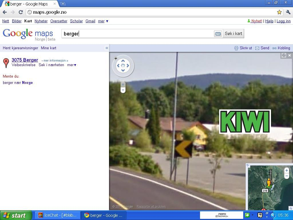 kiwi butikk