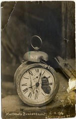 Alarm clock (Museum of Hartlepool) Tags: clock shell worldwari bombing bombardment hartlepool