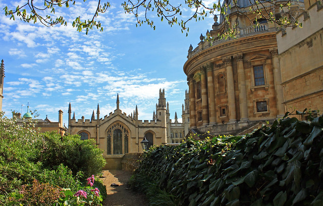 Exeter College Views oxford