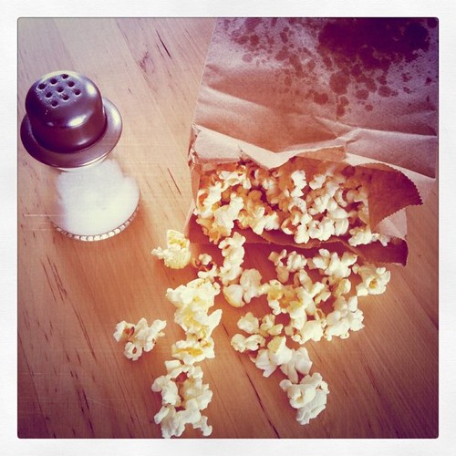 Homemade microwave popcorn is the best! - 109.365