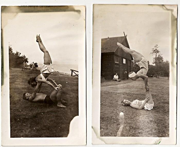 acrobats