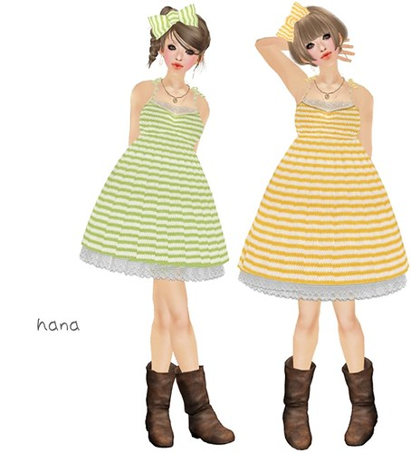 3.*miumin*Stripe Green