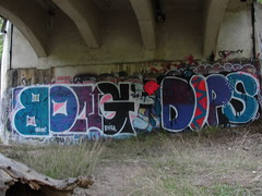 BONG / DIPS (Same $hit Different Day) Tags: graffiti bay east crew hits bong livermore nasty dips thr bonghits