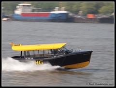 Rotterdam Water Taxi (Joost Boudewijns Trains) Tags: park new york city haven water hotel rotterdam harbour taxi van maas rijn kop euromast zuid schip boompjes binnenvaart