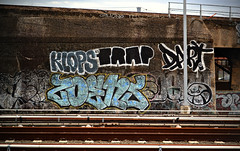 Klops x Trap x Dart x Zoens x Deny x Sno x Sken (Now It's Real!) Tags: new york city nyc ny graffiti graf queens if graff lirr dart trap gf qu floaters sno trackside sken deny fillin klops zoens
